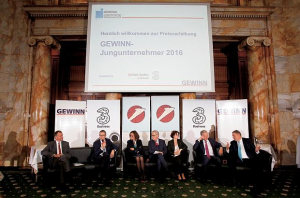 "Smart Engine No.1 Fintech in ""GEWINN Entrepreneur Award 2016"""