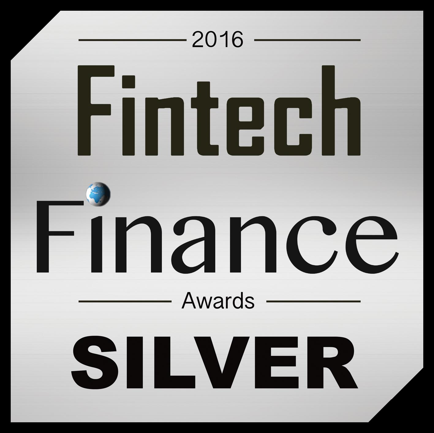 Fintech Finance Silver Award 2016